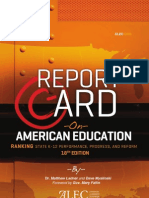 Report Card on American Education