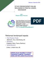 Konsep studi oseanografi dalam rangka reklamasi di Pantai Losari, Makassar