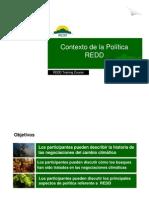 R. Cortez - Contexto de La Politica REDD