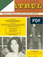 71907866 Revista Teatrul Nr 6 Anul XXI Iunie 1976