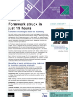 Formwork Striking