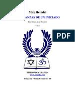 Max Heindel - Enseñanzas de un iniciado.pdf