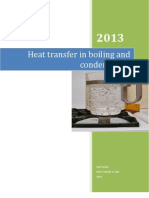 Heat Transfer in Boiling and Condensation