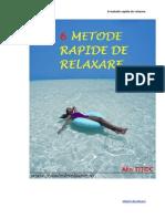 6 Metode Rapide de Relaxare