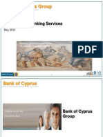 Bank of Cyprus Presentation - May 2012