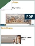 Bank of Cyprus Presentation - May 2012