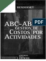 ABC – ABM Gestión de Costos por Actividades - Eduardo Bendersky