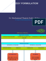 Materi Manstra Strategy Formulation 20213