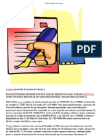 Modelo de petição de cobrança