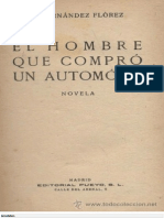 Fernandez Florez Wenceslao - El Hombre Que Compro Un Automovil