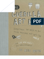 the Guerilla Art Kit by Keri Smith