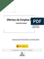 BOLETIN SEMANAL EMPLEO PUBLICO. Semana del 19.03.2013 al 25.03.2013.pdf