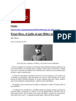El judío que Hitler protegió