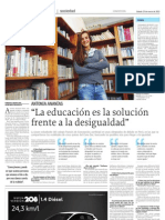 Entrevista a Antonia Ananías