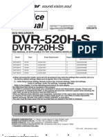 Pioneer Dvr 520 Service Manual