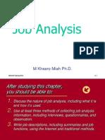 Job Analysis slide
