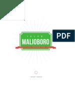 Identifikasi Suasanana Pagi di daerah Malioboro