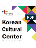 Korean Cultural Center(4~6 Program)
