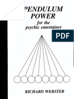 89919793 Richard Webster Pendulum Power for the Psychic Entertainer
