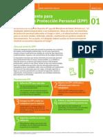 Procedimiento Para Equipos de Proteccion Personal