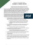 AS2 Internship Application 2013-14