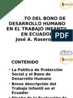 Ecuador Jose Rosero Moncayo Martes 16 15
