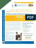 San Jose Foreclosure Prevention Clinic - April 19, 2009