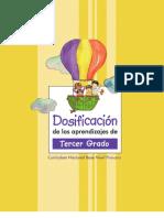 Dosificaciones - Tercer Grado