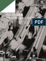 Index UAB d'Activitat Turística 2007 (versión en español)