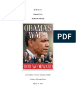 Book Review - Obama's Wars by Marcus Annibale