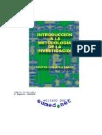 Introduccion a La Metodologia de La Investigacion - Luis Avila Barya