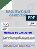 3 1 Error Estandar de La Estimaci n