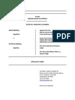 Appellant's Brief in Nevin Brooks v. State