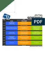 meshU Schedule 2009