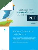 25 Twitter Tips