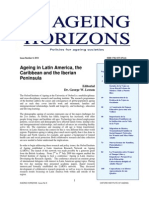 Ageing Horizons Issue 9 Latin America, Caribbean and Iberian Peninsula