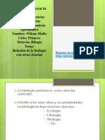 relacindelabiologaconotrasdisciplinas-111012194412-phpapp02