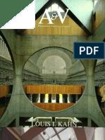 Khan Louis, Monografias de Arquitectura y Vivienda - Ed AyV