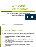 Computer Fundamentals Lecture01 Sri Lanka Institute of Information Technology (SLIIT)