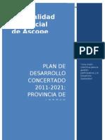 Plan de Desarrollo Concertado Ascope 2011-2021