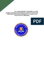 FBI Project Megiddo