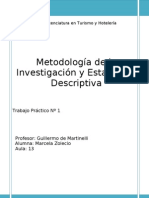 Metodologia de La Investigacion en Tur.