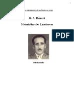 Ranieri - Materializacoes Luminosas