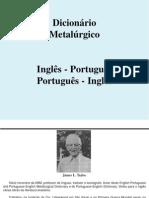 Dicionário Metalúrgico