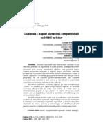 Clusterele – suport al creşterii competitivităţii