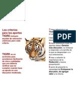 Rubrica Tigre 2012