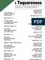 Letras Taquarenses Nº 47 * Antonio Cabral Filho - Rj