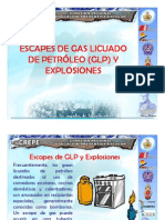 Escapes de Gas y Explosiones