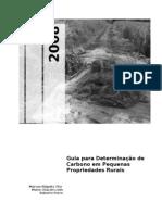 Guía Para La Determinación de Carbono en Pequeñas des Rurales-Rügnitz Marcos-ICRAF 2008