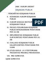 Hukum Kebijakan Publik